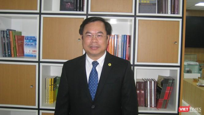 TS Vương Quốc Thắng - Giám đốc Trung tâm Chuyển giao Tri thức và Hỗ trợ Khởi nghiệp, ĐHQG Hà Nội.