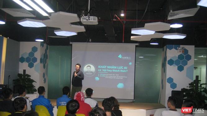 Một buổi seminar do Rubic AI tổ chức cuối năm 2018