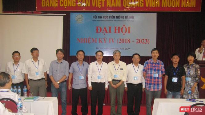 Trong danh sách các thành viên Ban chấp hành mới của Hội Tin học Viễn thông Hà Nội không có ông Nguyễn Kiên Cường - ứng cử viên duy nhất cho cương vị Chủ tịch