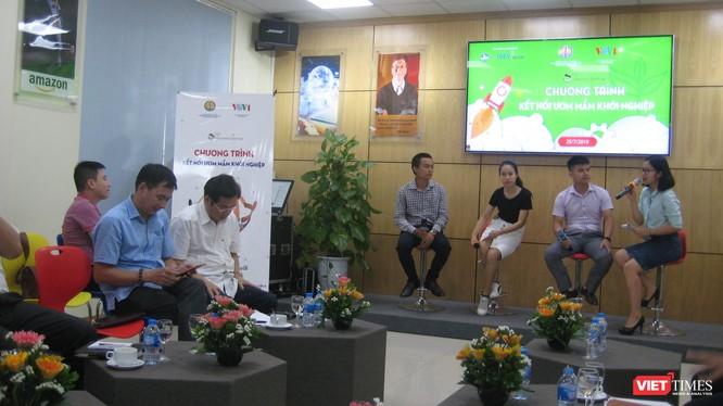 3 nhóm khởi nghiệp trong phần giao lưu của ban tổ chức