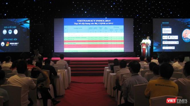 Bộ Tài chính đứng đầu bảng xếp hạng chỉ số Vietnam ICT Index 2019