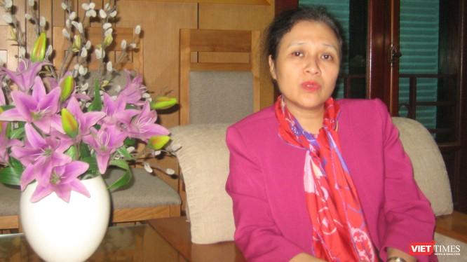 Bà Nguyễn Phương Nga - Chủ tịch Liên hiệp các tổ chức hữu nghị Việt Nam
