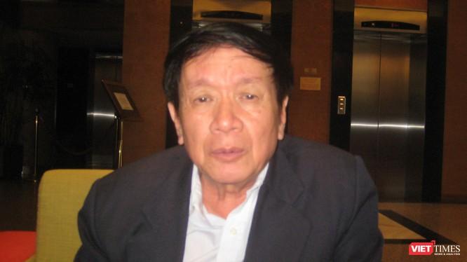 TS Đào Trọng Tứ - Trưởng ban Điều hành Mạng lưới Sông ngòi Việt Nam