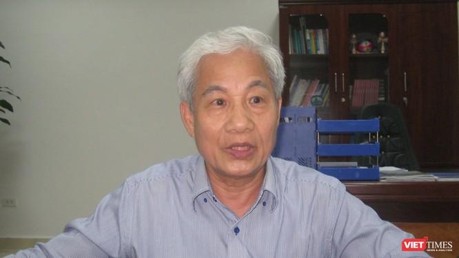 TS Đào Xuân Học - Chủ tịch Hội Thuỷ lợi Việt Nam