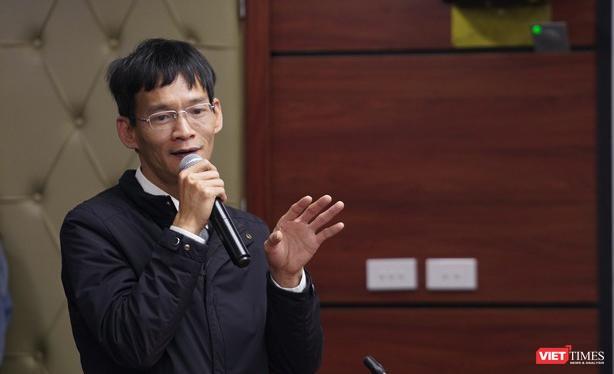 Ông Nguyễn Xuân Cường tai buổi họp báo công bố kế hoạch hoạt động của Hội Thể thao Điện tử Giải trí Việt Nam năm 2021.