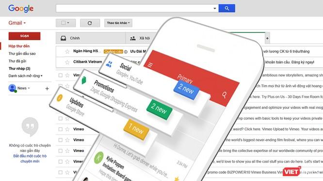 Google sắp thực hiện nhiều thay đổi với Gmail