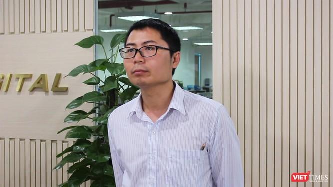 ông Nguyễn Quang Đồng, Viện trưởng Viện Nghiên cứu Chính sách và Phát triển Truyền thông (ảnh: Đăng Khoa)