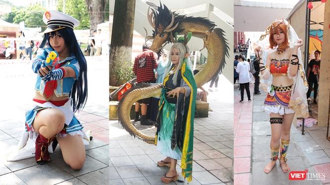 Những bộ trang phục cosplay nổi bật tại lễ hội
