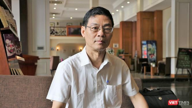 Nguyên Cục trưởng Cục Thông tin đối ngoại, Bộ TT&TT, ông Lê Văn Nghiêm.
