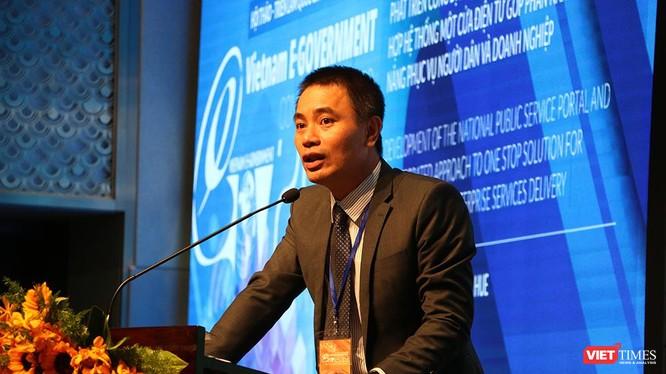 ông Hà Thái Bảo, Phó Tổng Giám đốc công ty CNTT tập đoàn VNPT