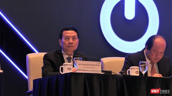 Bộ trưởng Bộ Thông tin và Truyền thông Nguyễn Mạnh Hùng tại Diễn đàn cấp cao về Công nghiệp 4.0