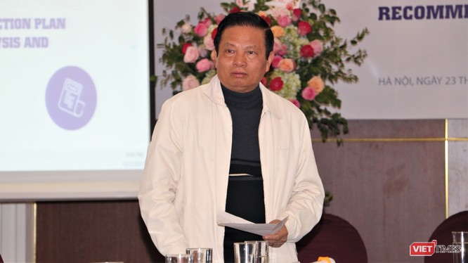 Tiến sĩ Lê Doãn Hợp, nguyên Ủy viên Trung ương Đảng, nguyên Bộ trưởng Bộ TT&TT nhiệm kỳ 2007-2011.