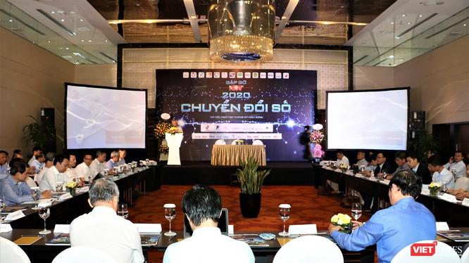 Toàn cảnh cuộc gặp gỡ giữa các hội, hiệp hội ngành CNTT (ảnh: Đăng Khoa)