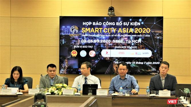 Smart City Asia sẽ được tổ chức tại Việt Nam vào tháng 9/2020