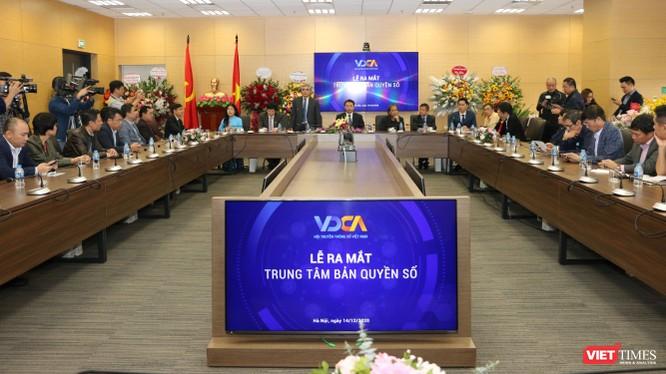 Trung tâm Bản quyền số trực thuộc Hội Truyền thông số Việt Nam là đơn vị giúp bảo vệ tác quyền và khai thác tác phẩm trên môi trường số