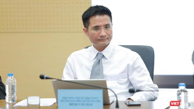 Nhà báo Đinh Văn Hải - Chủ nhiệm Tạp chí điện tử VietTimes, Phó Trưởng ban tổ chức , Trưởng ban Điều hành Giải thưởng.