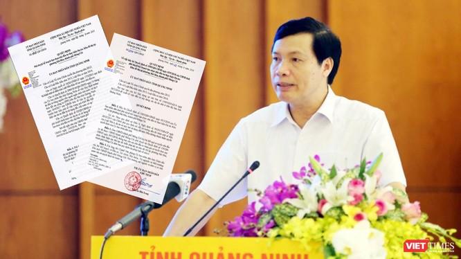 Chủ tịch Quảng Ninh Nguyễn Đức Long ký Quyết định để hủy bỏ Quyết định mà chính ông vừa ký hơn một tháng trước.