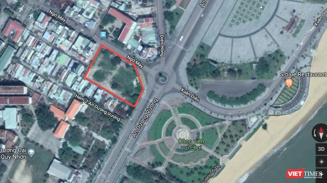 Có lẽ không quá lời khi nói khu đất số 01 đường Ngô Mây là khu đất đẹp nhất thành phố Quy Nhơn.