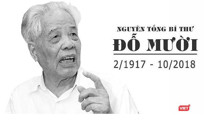 Quốc tang nguyên Tổng Bí thư Đỗ Mười trong hai ngày 06 và 07/10/2018.