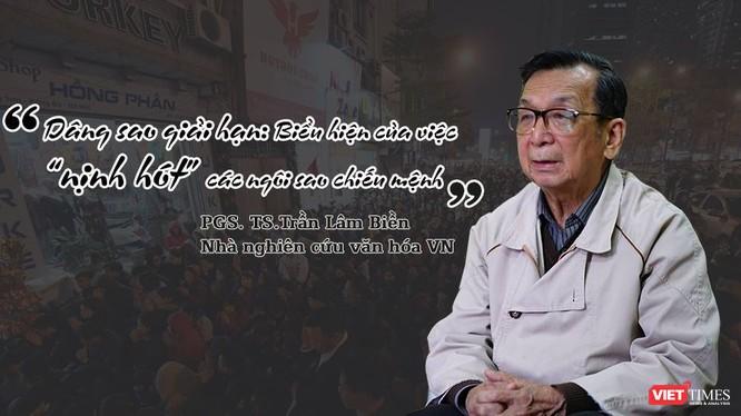 """PGS. TS. Trần Lâm Biền: """"Đã bao thế kỷ đạo Phật tồn tại ở nước ta, nhưng không ghi nhận có chuyện dâng sao giải hạn nơi cửa Phật"""""""
