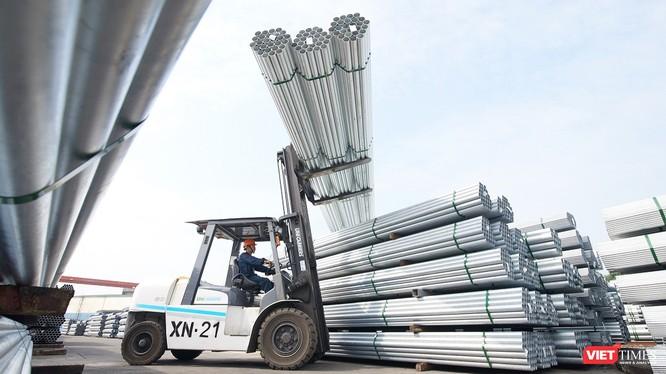 Ống thép Hòa Phát chính thức vào thị trường Ấn Độ với đơn hàng nghìn tấn.