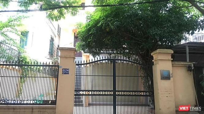 Căn biệt thự G24 Làng quốc tế Thăng Long.