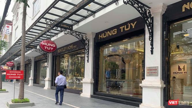 Showroom Hùng Túy cũng là trụ sở của Công ty TNHH Hoàng tử và Tập đoàn Picenza. (Ảnh: X.T)