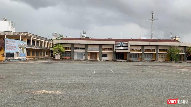 Khu đất 1,6ha 448B Nguyễn Tất Thành (Q.4, Tp. HCM) nguyên là trường Trung học Kỹ thuật Hải quân.