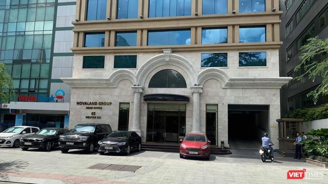 Trụ sở Novaland ở số 65 Nguyễn Du, Quận 1, Tp. HCM.