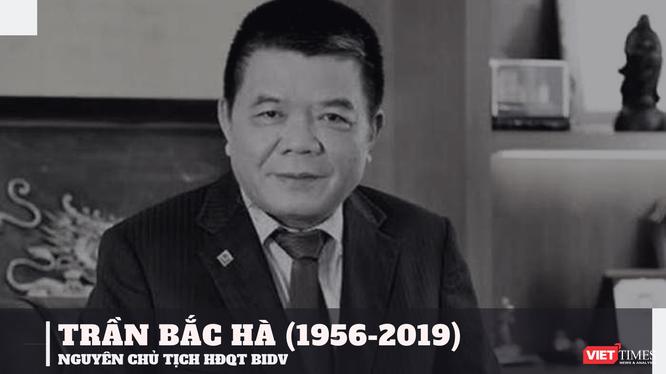 Ông Trần Bắc Hà tử vong vào sáng 18/7 khi đang trong thời gian bị tạm giam tại một trại giam ở Hà Nội. Ông Hà được xác định bị bệnh nặng và tử vong trên đường đưa tới bệnh viện.