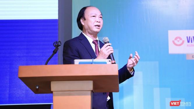 Ông Nguyễn Đình Thắng, Chủ tịch Ngân hàng LienVietPostBank, Phó Chủ tịch Hội Truyền thông số Việt Nam.