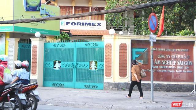 Địa chỉ trụ sở chính của Forimex tại số 8 Hoàng Hoa Thám, Phường 7, Quận Bình Thạnh, Tp. HCM.