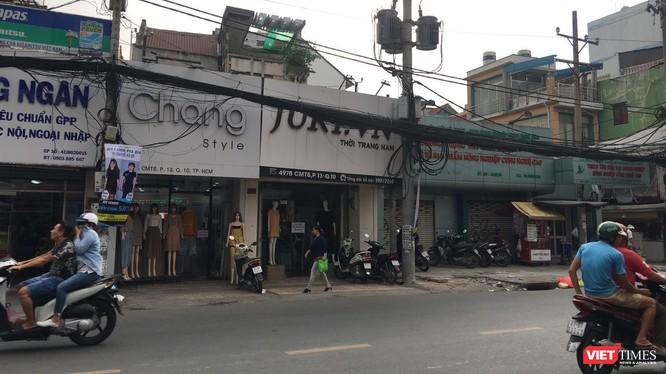 Những cửa hàng thời trang san sát trên tuyến đường CMT8 (Quận 10, Tp. Hồ Chí Minh)