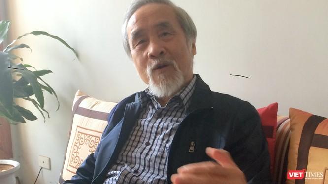 Ông Nguyễn Đình Bin (Ảnh: Huỳnh Phan)