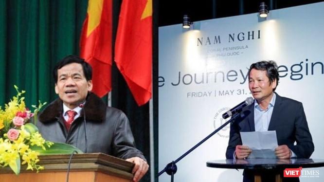 """Ít người biết đến sự đồng hành giữa """"soái"""" Võ Văn Hồng (trái) và đại gia Hà Văn An."""