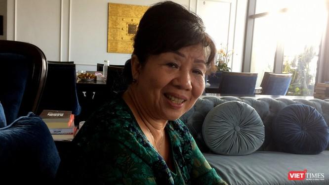 Phan Thanh Hảo - dịch giả và nhà báo. Ảnh: Huỳnh Phan