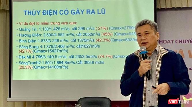 Chuyên gia thuỷ điện Nguyễn Tài Sơn