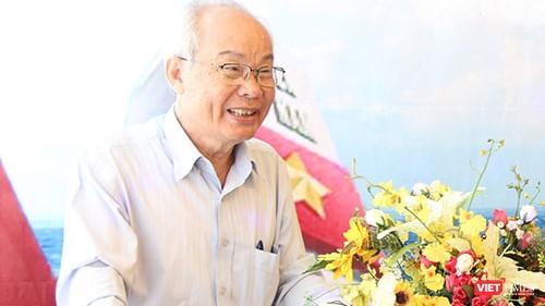 Nhạc sĩ Phạm Minh Tuấn (Ảnh: Hòa Bình)