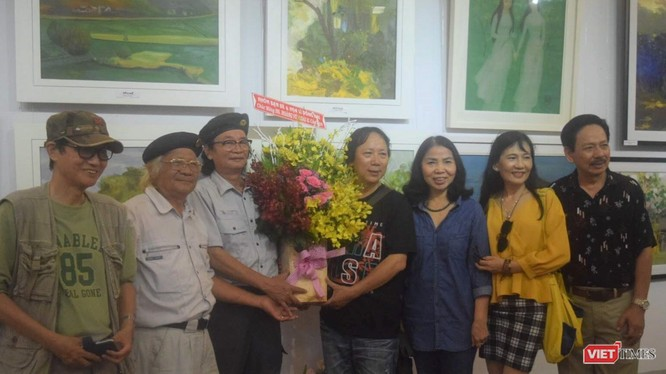 """Triển lãm """"Phiêu"""" hội tụ tới 22 họa sĩ đang sinh sống ở Hà Nội và TP.HCM"""