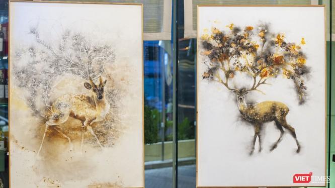 Tác phẩm của Trung Nghĩa với chủ đề thiên nhiên, môi trường có sức cuốn hút đặc biệt