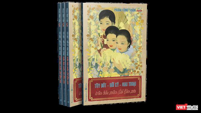 """""""Tùy bút, hồi ký, giai thoại trên báo xuân Sài Gòn xưa"""" của tác giả Phạm Công Luận"""