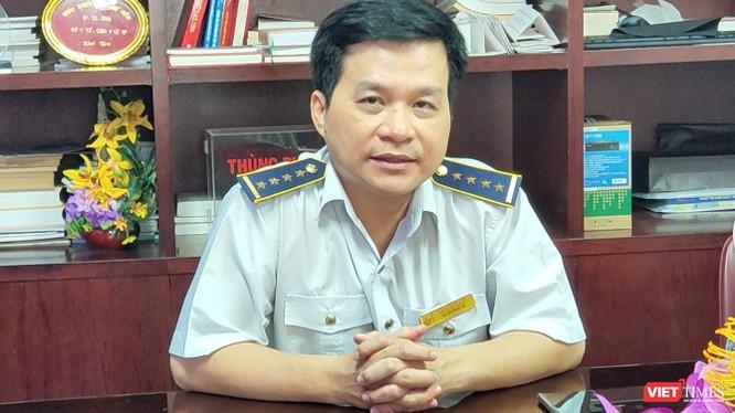 Ông Nguyễn Hồng Tâm, Giám đốc Trung tâm Kiểm dịch y tế Quốc tế TP.HCM
