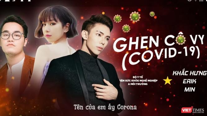 """""""Ghen Cô Vy"""" của nhạc sĩ Khắc Hưng nổi lên rất hot trong mùa dịch bệnh COVID-19 (Ảnh cắt từ clip)"""