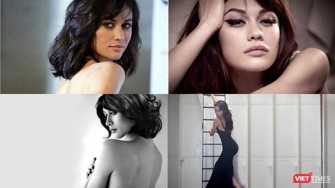 """Ngôi sao phim """"Điệp viên 007"""", Bond girl Olga Kurylenko xác nhận mắc COVID-19 (Ảnh: Hòa Bình ghép)"""