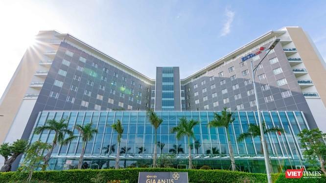 Bệnh viện Gia An 115 nằm trong Khu y tế kỹ thuật cao, quận Bình Tân, TP.HCM (Ảnh: BV)