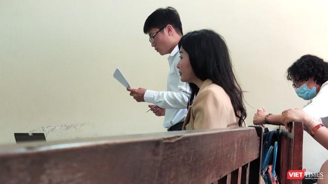 Bệnh nhân Nguyễn Thị Mộng C bị kiện đòi bồi thường hơn 1,3 tỷ đồng (Ảnh: Hòa Bình)