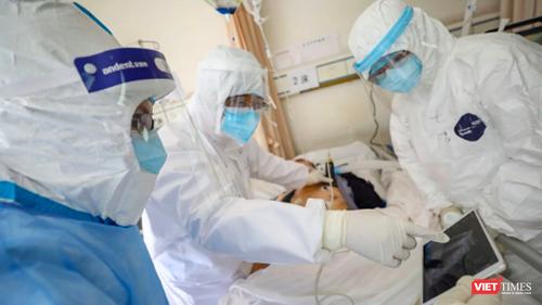 Hà Nội phát hiện thêm ca nhiễm COVID-19 liên quan đến Đà Nẵng. Ảnh minh họa: Hòa Bình.