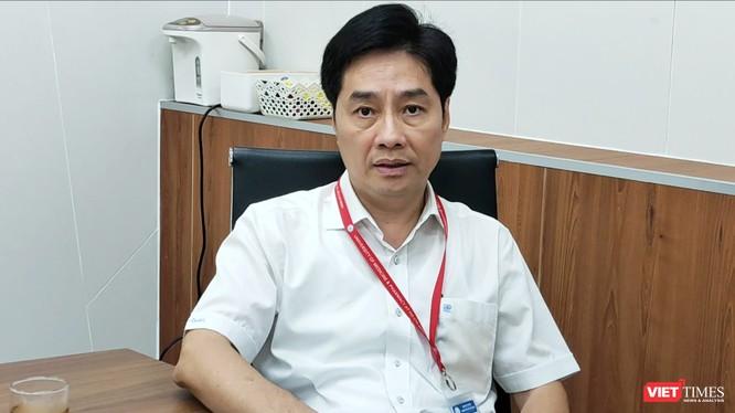 PGS.TS Trần Diệp Tuấn- Hiệu trưởng ĐH Y Dược TP.HCM (Ảnh: Hòa Bình)