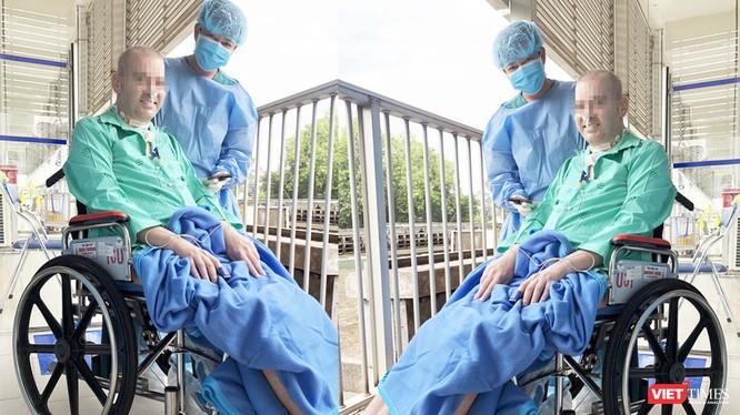 Bệnh nhân 91 đã hồi sinh diệu kỳ (Ảnh: Hòa Bình ghép)