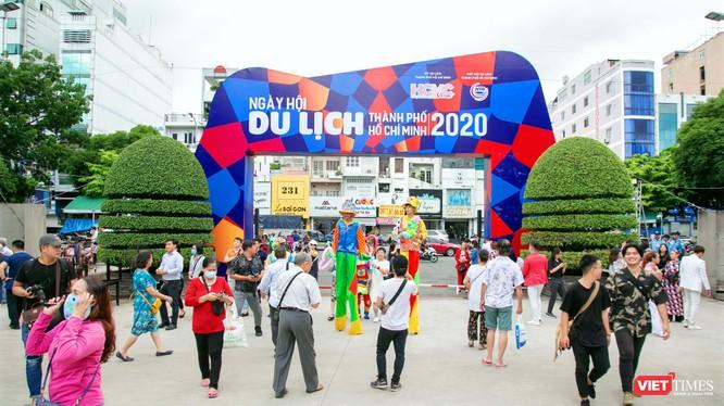 Ngày hội Du lịch – Liên hoan món ngon các nước 2020 đang diễn ra tại TP.HCM sau những ảnh hưởng nặng nề từ đại dịch COVID-19 (Ảnh: Phương Thảo)